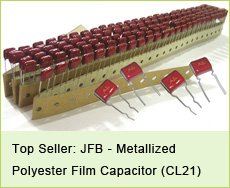 JFB--Metallized Polypester Film Capacitors (CL21) Top popular series