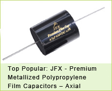 JFX - Premium Metallized Polypropylene Film Capacitors – Axial