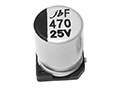 JCF - Super Low Impedance SMD Aluminum Electrolytic Capacitor