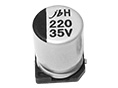 JCH - 1000H to 2000H at 125°C, Long Life Assurance SMD Aluminum Electrolytic Capacitor