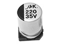 JCK - 1000H to 2000H at 105°C SMD Aluminum Electrolytic Capacitor