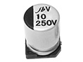 JCV - Long Life Assurance SMD Aluminum Electrolytic Capacitor