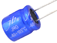JRG - 10000H at 105°C, Leaded Radial Aluminum Electrolytic Capacitor