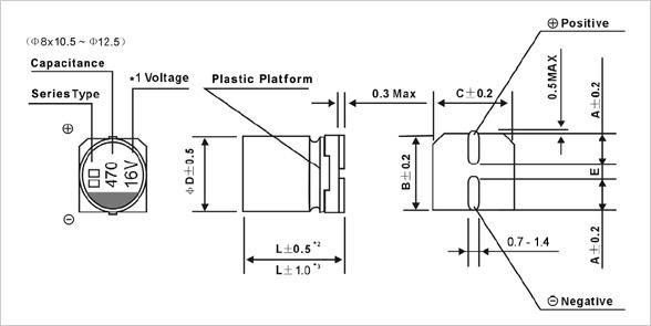 JCS - 2000H at 85°C SMD Aluminum Electrolytic Capacitor - jb