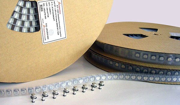 jb - JCK/JCS SMD E Cap Tape/Reel Packing